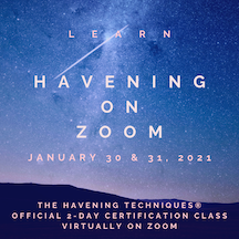 Learn Havening online in January